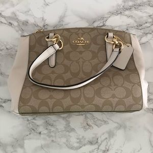 Coach Mini Christie Signature khaki (new)